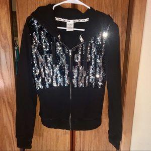 VS PINK Fashion Show Zip Up